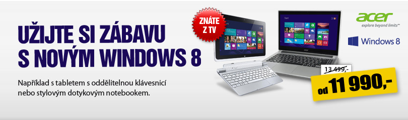 skvl acer produkty s windows 8