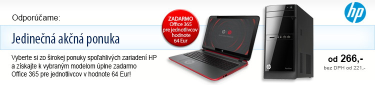 HP a Office 365 zdarma