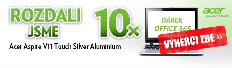 Tento víkend rozdáváme deset notebooků Acer