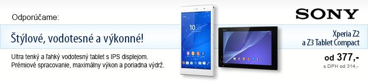 SONY Xperia tablet Z2, Z3 Compact