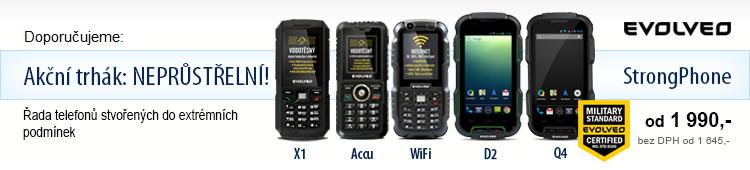 Evolveo odolné telefony StrongPhone obecně