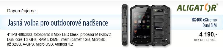 Aligator RX400 eXtremo Dual SIM
