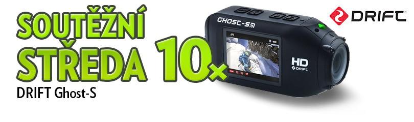 Soutěž o 10× kamera DRIFT