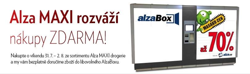 Doprava zdarma na Alza MAXI