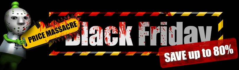 Black Friday - Save up to 80%