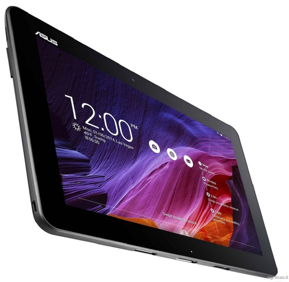 Slogan Asus a tablet