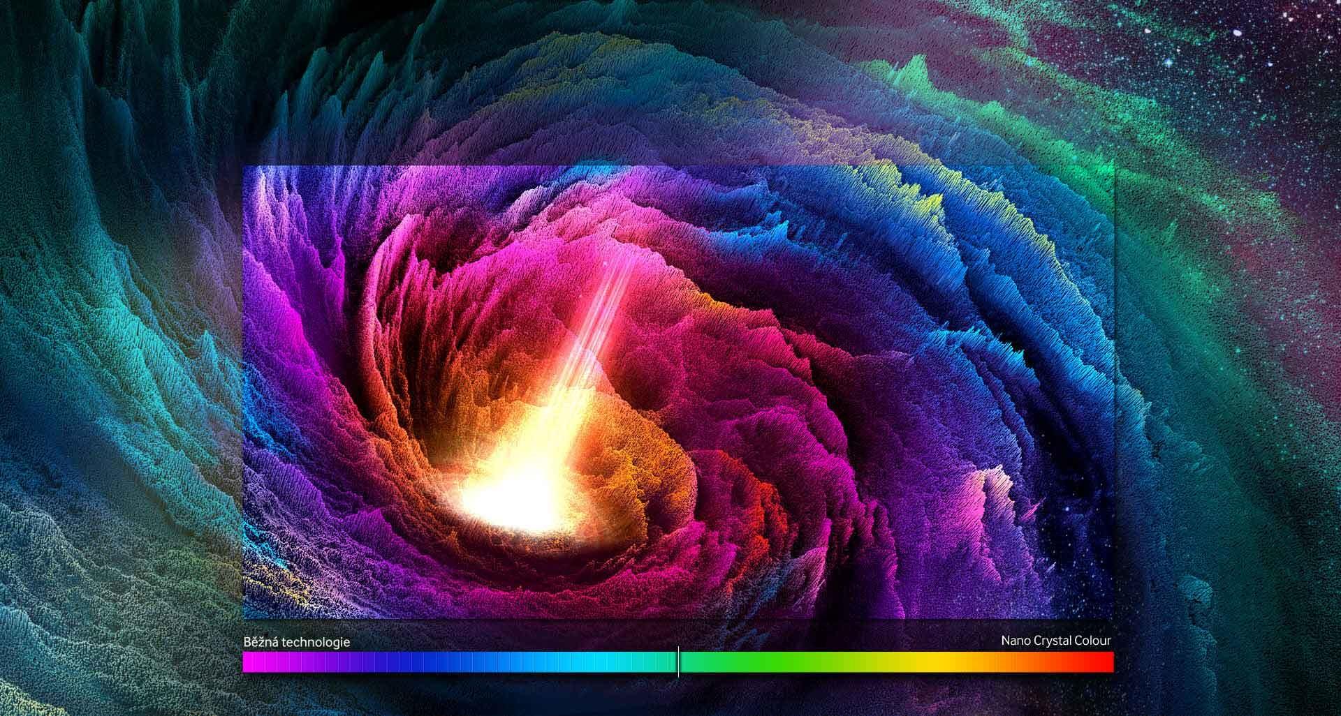 Fantastický obraz, dokonalé barvy