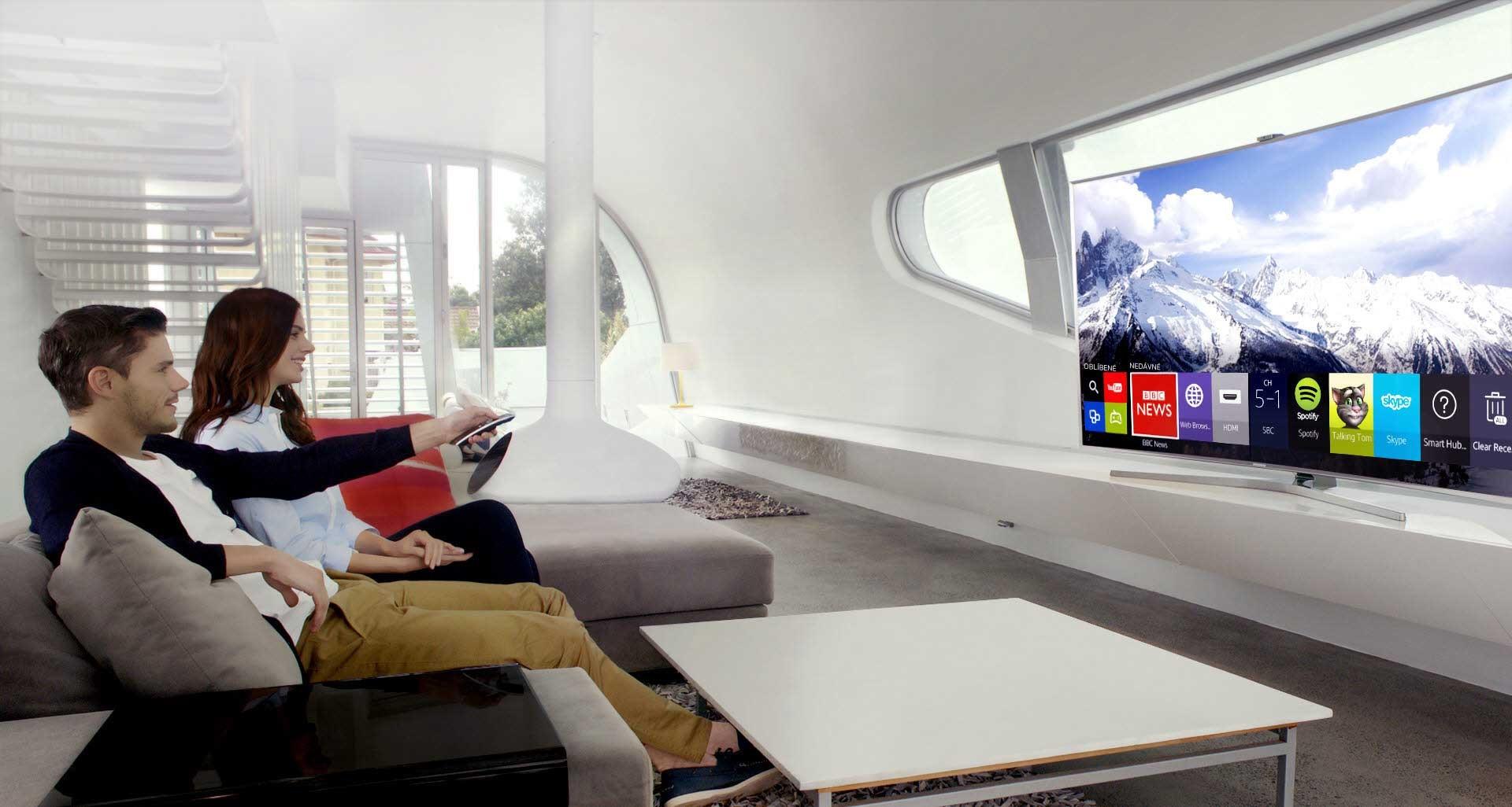Otevřete dveře do světa všech funkcí Smart TV