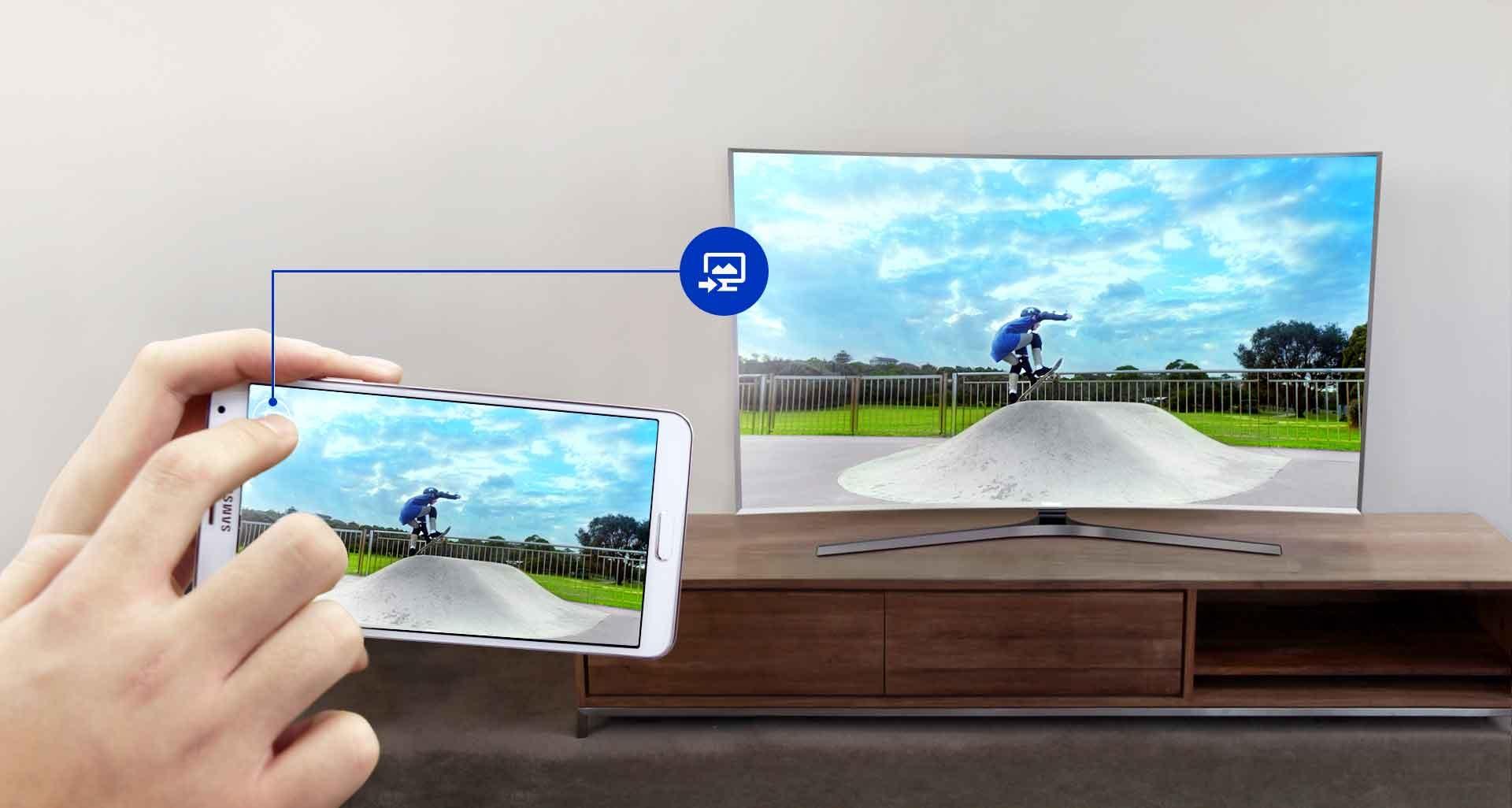Synchronizace televize a mobilního zařízení