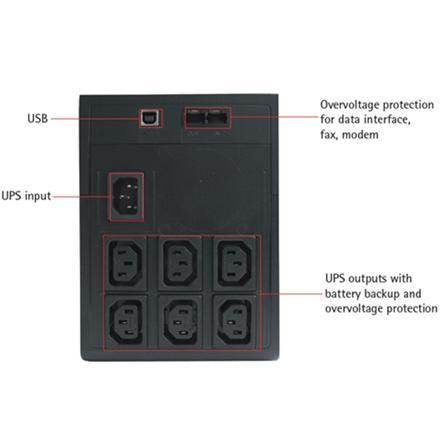 AEG UPS řeší výpadky proudu