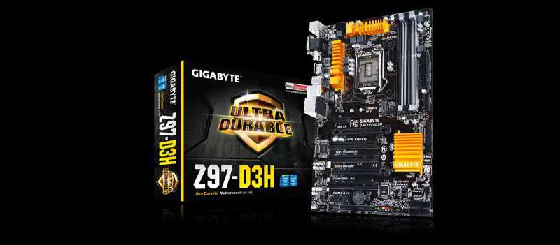 GIGABYTE Z97-D3H