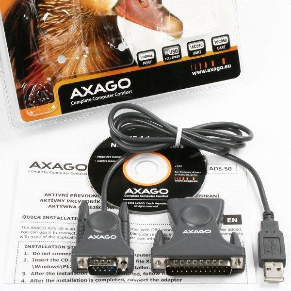 Adaptér AXAGO ADS-50