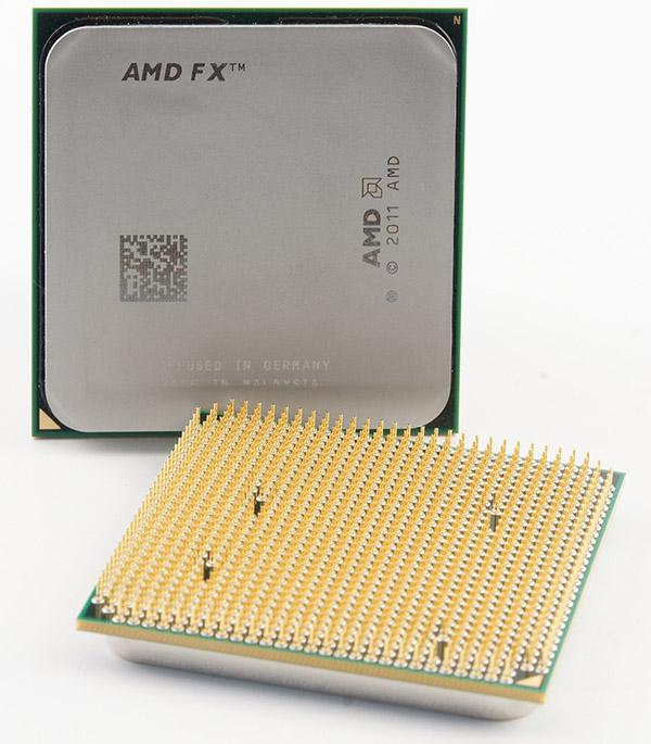 Křemíkový ďábel s logem AMD