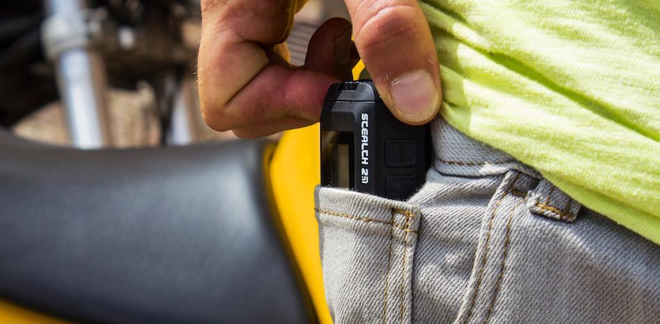 Prakticky nejmenší kamera na trhu