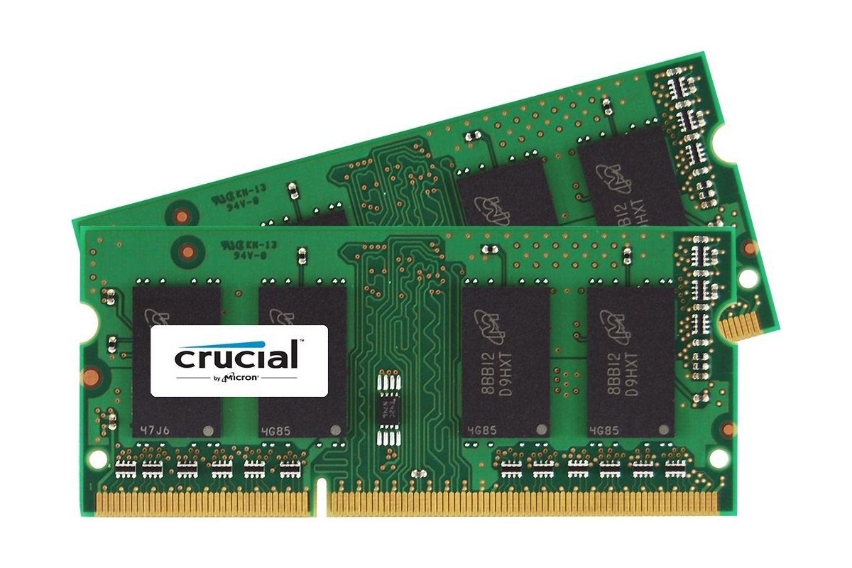KIT = 2x 4 GB SO-DIMM DDR3 1066 MHz