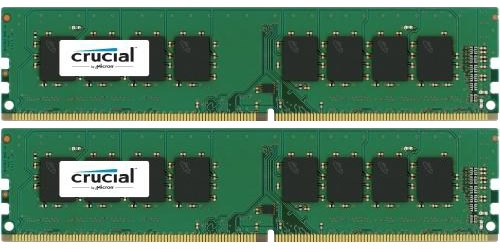 2x 8 GB DDR4 2133 MHz CL16