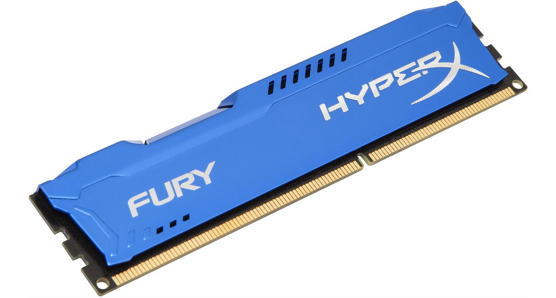 Kingston 8GB DDR3 1600MHz CL10 HyperX Fury Blue Series