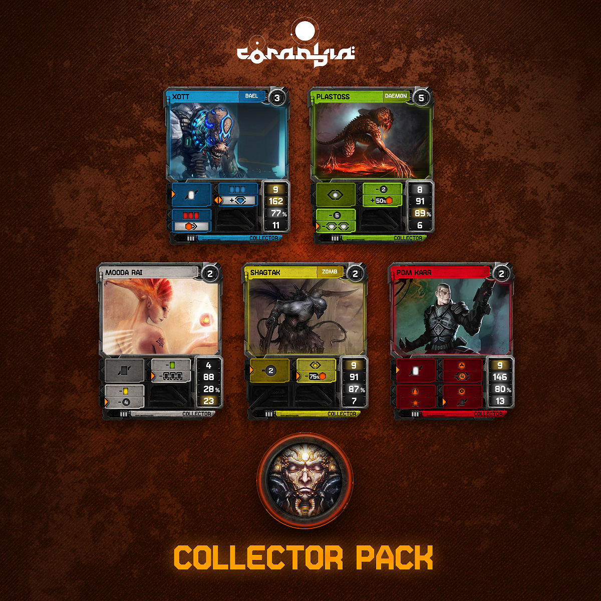 Co najdete v Coraabia Collector Pack?