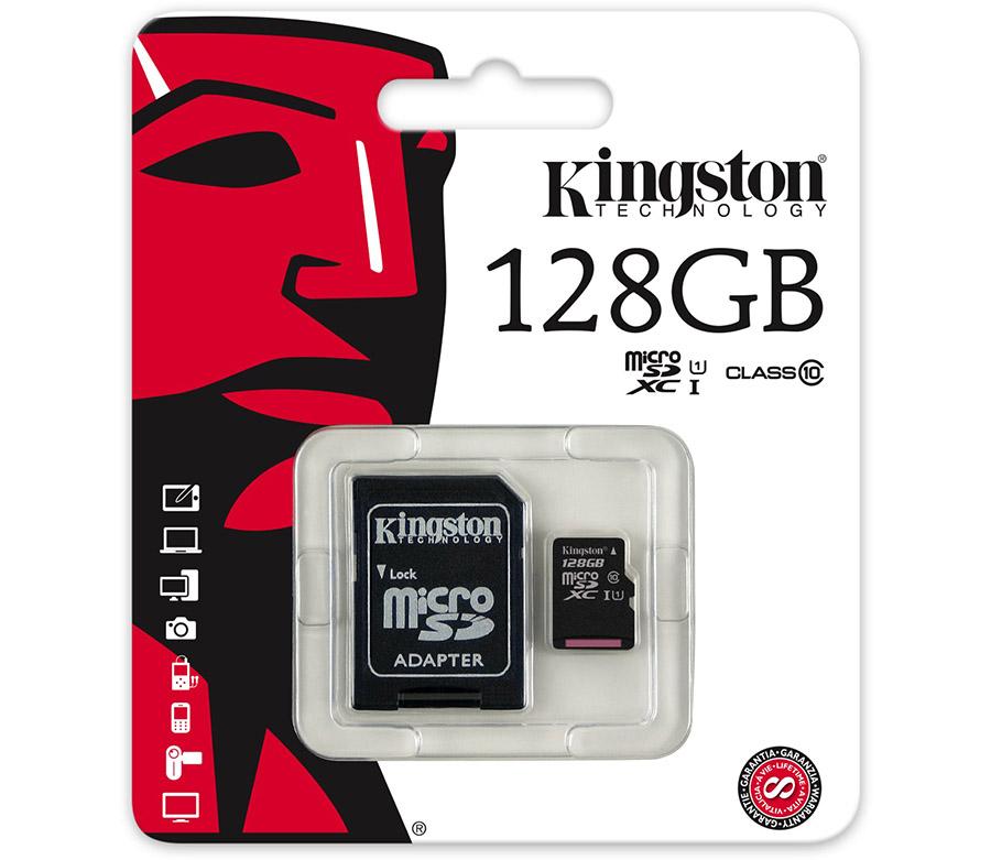 Kingston Micro SDXC 128GB