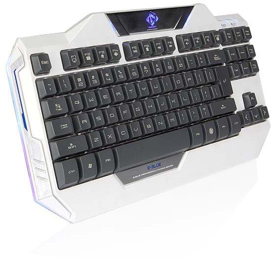 Ukázka podsvícení klávesnice