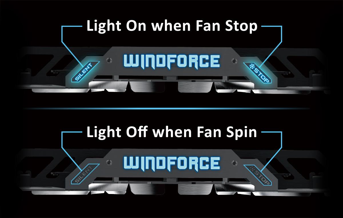 Efektní osvětlení karty