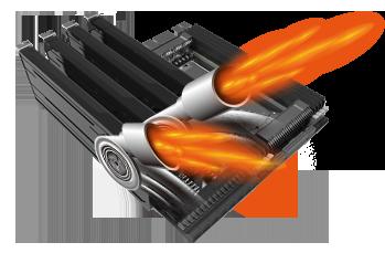S technologií AMD Crossfire si užijete maximální výkon.