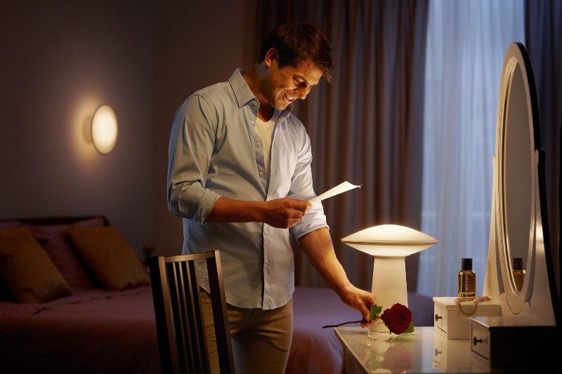 Philips hue phoenix table lamp lamp alzashop