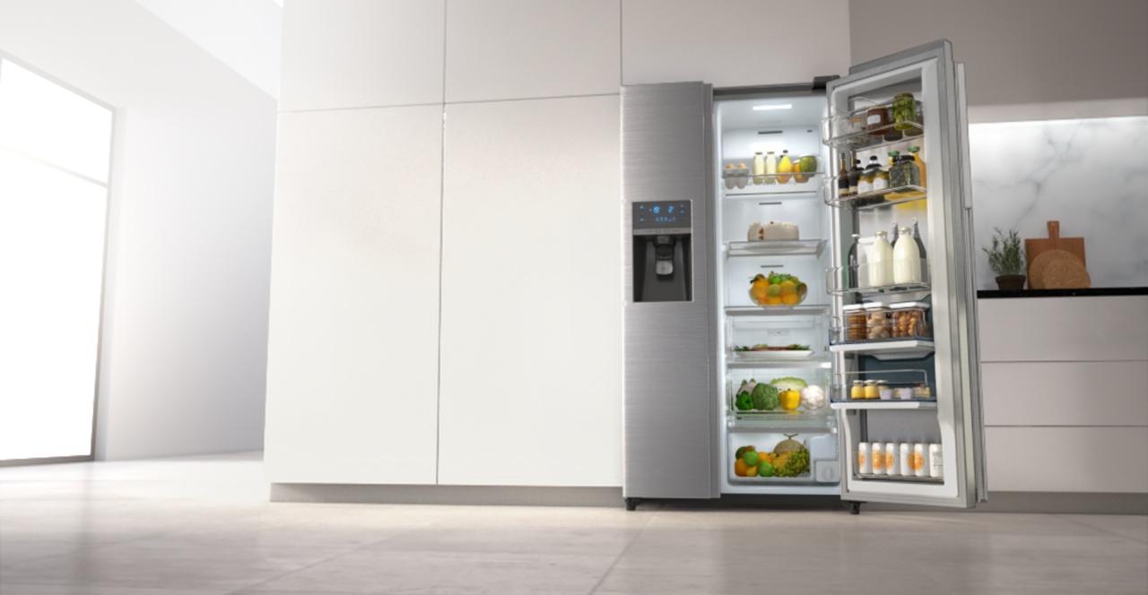 Chladnička Samsung v kuchyni