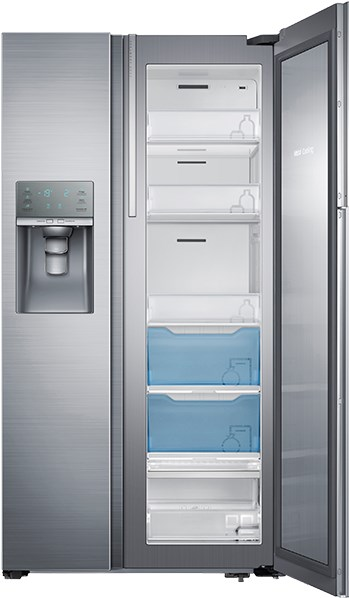 Otevřená chladnička Samsung