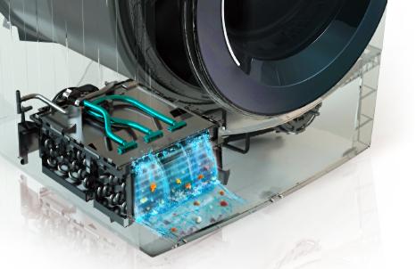 Automatické čištění kondenzátoru