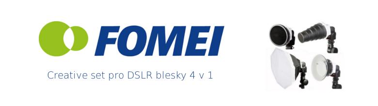 Creative set pro DSLR blesky 4v1