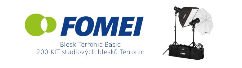 BASIC - 200, kit studiových blesků TERRONIC