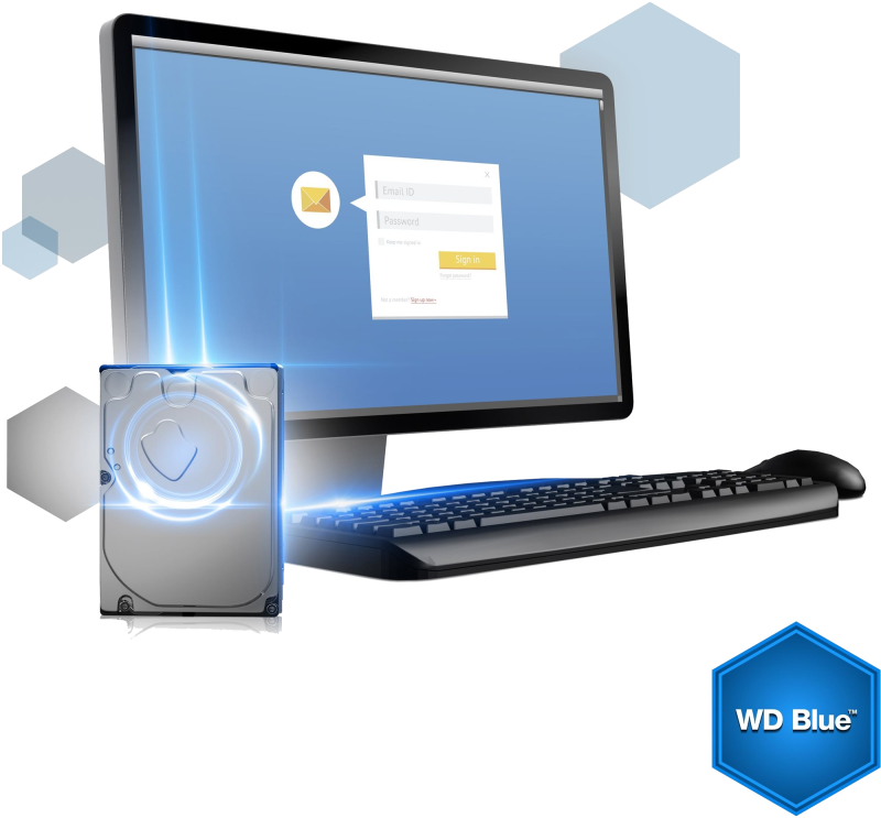 WD Blue 3000GB