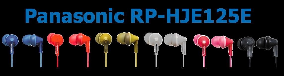 Sluchátka Panasonic RP-HJE125E