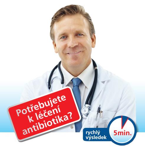 Nechte si antibiotika na závažnější choroby