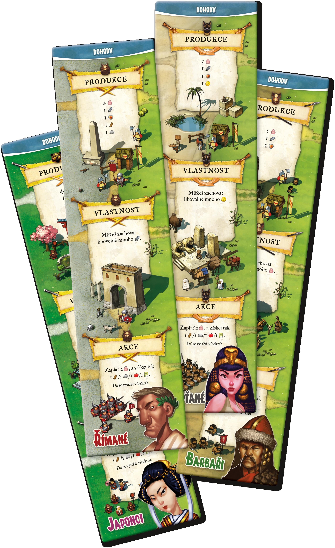 Karetní hra Settlers - Zrod Impéria