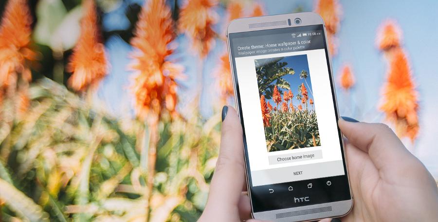 Mobilní telefon HTC One M9 (barva telefonu je jiná než na fotografii)