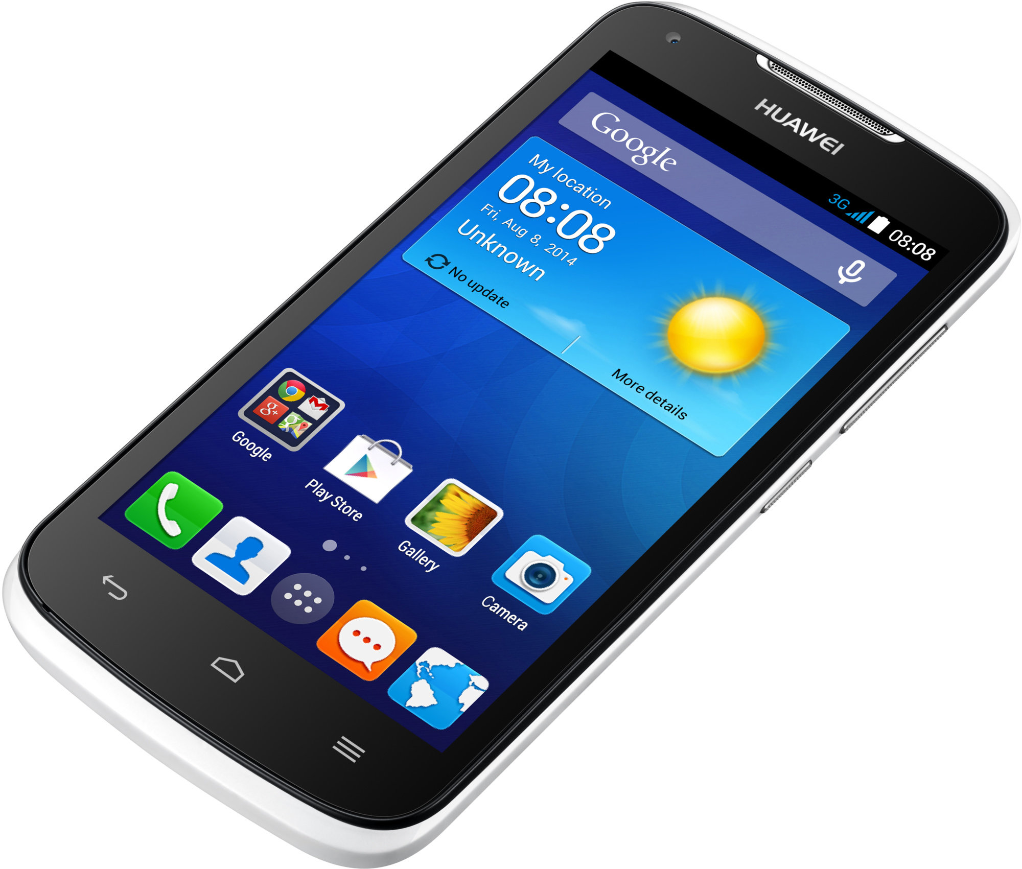 Mobilní telefon HUAWEI Y540 White Dual SIM