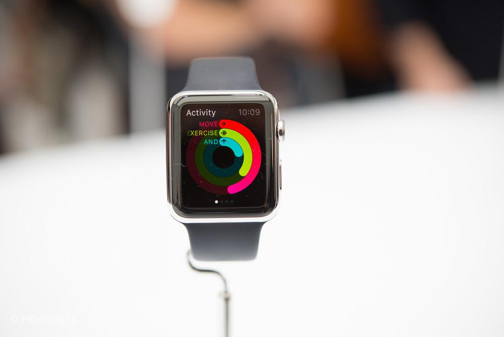 Apple Watch - Tři kroužky aplikace Activity