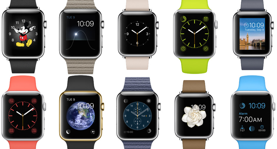 Apple Watch - kombinace
