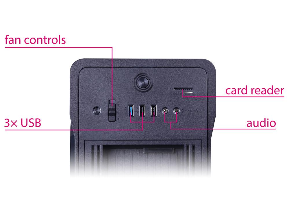 Ideální ovládací panel
