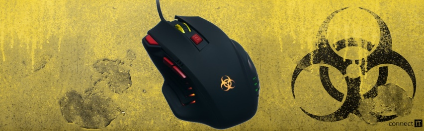 Myš CONNECT IT Biohazard Mouse