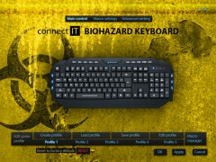 CONNECT IT GK2000 Biohazard