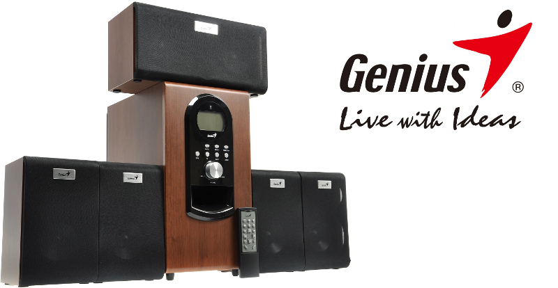 Reproduktory Genius Home Theater SW-HF 5.1 6000