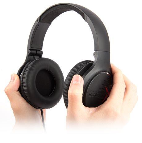 Sluchátka s mikrofonem Creative Sound Blaster X H3 40mm mÄniÄe