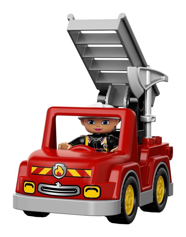 LEGO DUPLO 10593 Fire Station - Building Kit   Alzashop.com