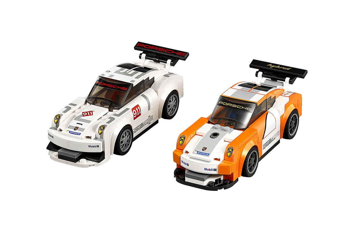 lego speed champions 75912 porsche 911 gt finish line building kit. Black Bedroom Furniture Sets. Home Design Ideas