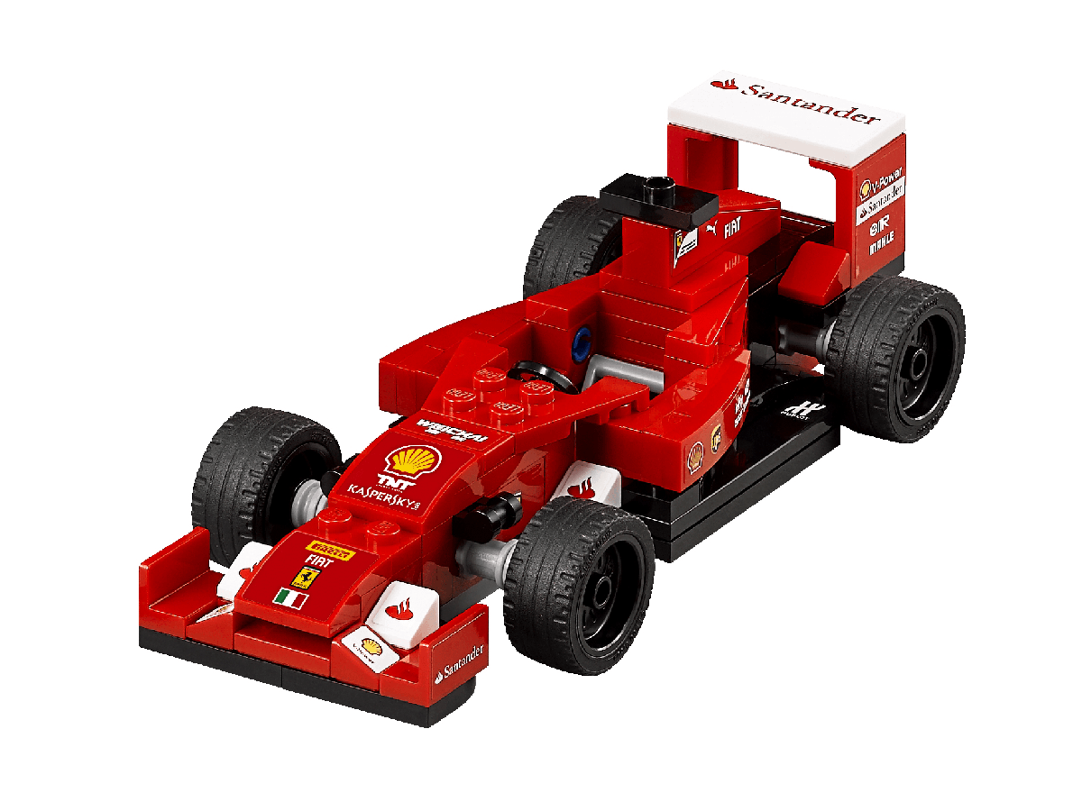 lego speed champions 75913 f14 t scuderia ferrari truck building kit. Black Bedroom Furniture Sets. Home Design Ideas