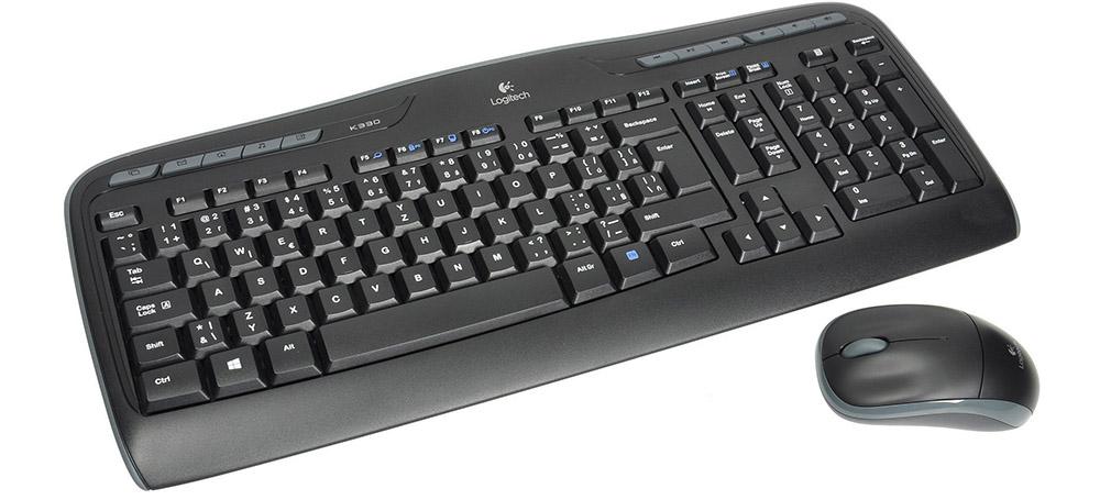 Logitech Wireless Combo MK330 SK