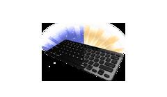 Podsvícené klávesy